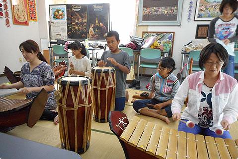 タイ伝統音楽教室